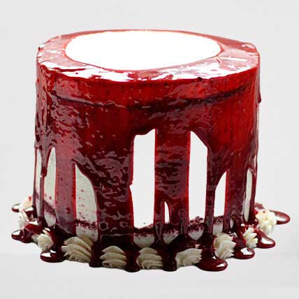 4-layer-dripping-blueberry-cake