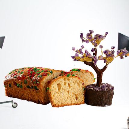 Amethyst Wish Tree & Dry Mixed Fruit Cake