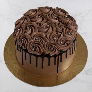 Choco Delight Designer Rose Cake