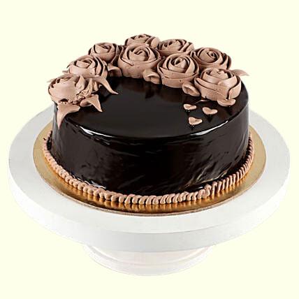 Chocolate Designer Rose Cake