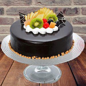 Chocolate Mixed Fruit Cake