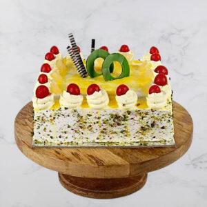 Cream Drop & Cherry Pineapple Cake