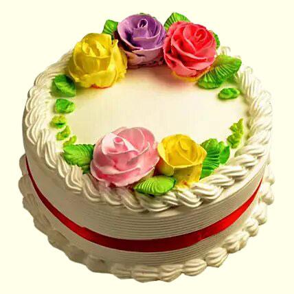Creamy French Vanilla Cake