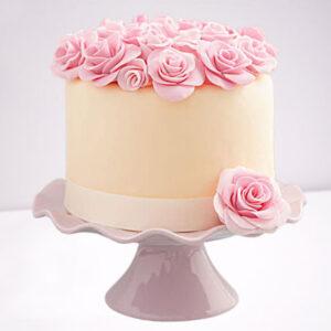 Decadent Floral Chocolate Cake