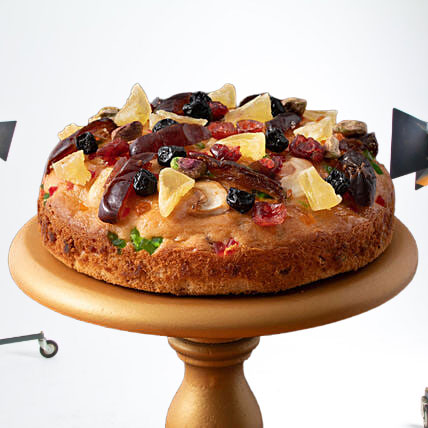 Delicious Nut Mixed Fruit Cake