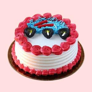 Diwali Special Red Velvet Cake