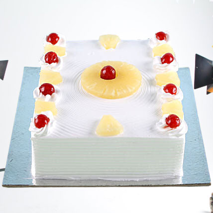 Exotic Pineapple Cake