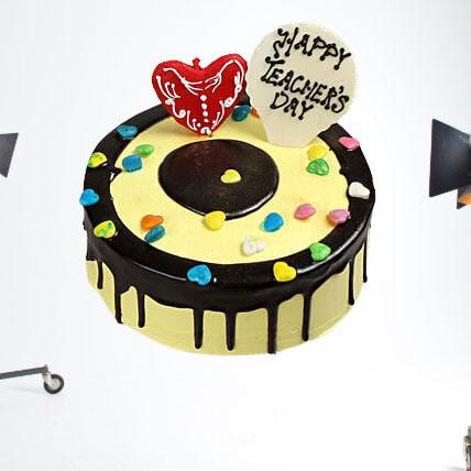 Fondant Hearts Cake