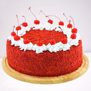 Fresh Cream Red Velvet Cake