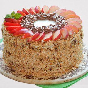 Fruit Designer Walnut Cake
