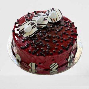 Glaze-Blueberry-Cake