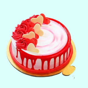 In Love Strawberry Cake