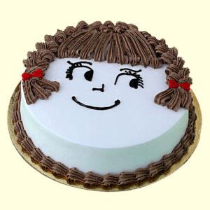 My Cute Chocolate Love Cake