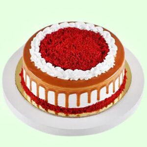 Scrumptious Red Velvet Cake