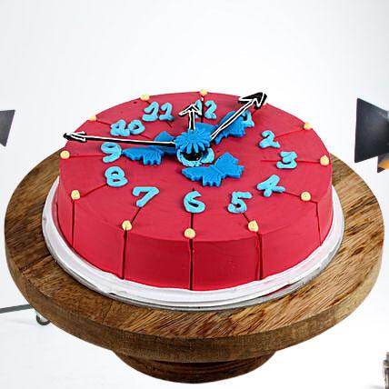 Countdown Chocolate New Year Cake