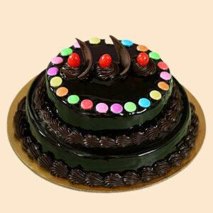 Gems Truffle 2 Tier Cake