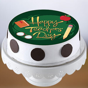 Happy Teachers' Day Photo Cake