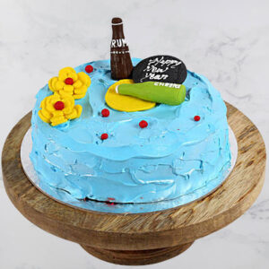 Party New Year Cake