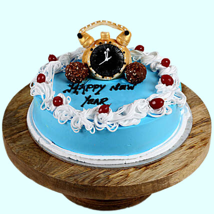 Special Chocolate New Year Cake