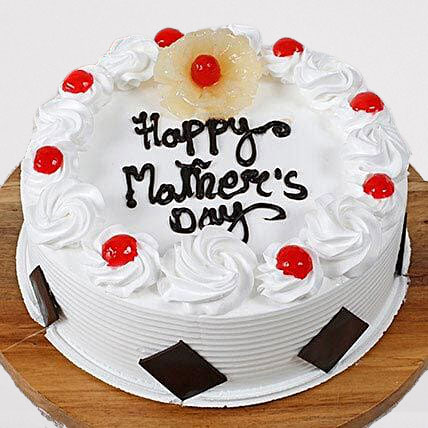 Special Pineapple Eggless Mothers Day Cake