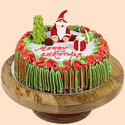 Special Santa Claus Chocolate Christmas Cake