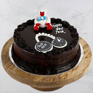 Theme Truffle New Year Cake