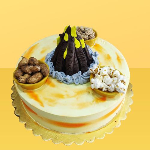 Lohri Special Butterscotch Cake