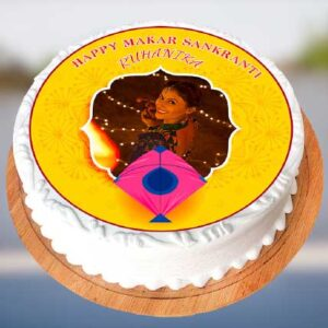 Sankranti Photo Cake