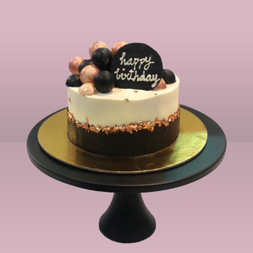Chocolate Fault line Cake