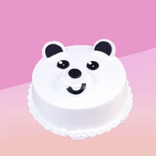 Cute Teddy Day Designer Butterscotch Cake