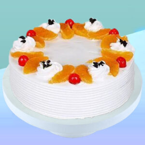 Cake Flavour - Vanilla Type of Cake - Cream Weight - 1 Kg Shape - Round Serves - 10-12 People Size - 9 inches in Diameter Candles & Knife Included