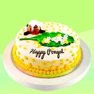 kapruka happy pongal eggless cake