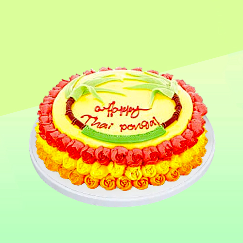Kapruka thaipongal eggless cake
