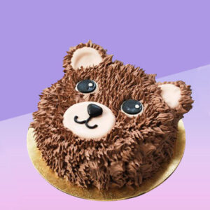 TEDDY BEAR VALENTINE CAKE