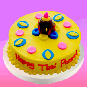 thai pongal bubble cake