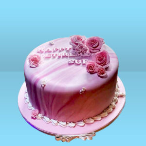 Marble Effect Cake