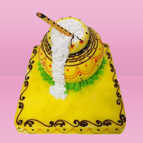 Designer Dahi Handi Cake