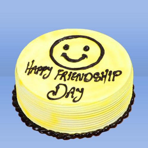 Friendship Day Blue Berry cake