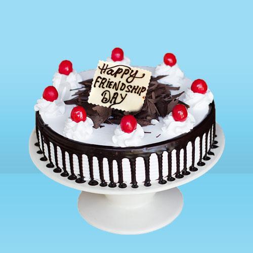 Friendship Day black forest cake
