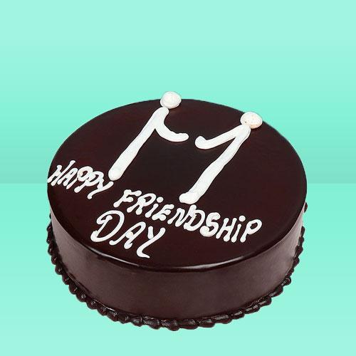 Friendshipday chocolate Cake