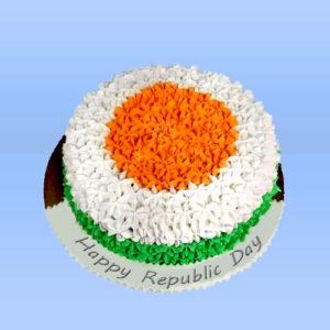 Happy Republic Day cake