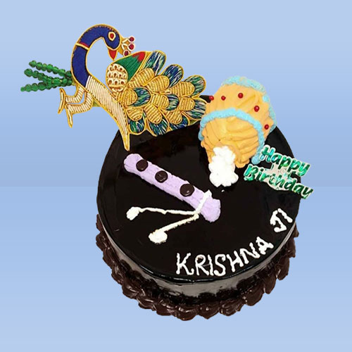 KRISHNA JI JANMASHTAMI CAKE