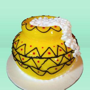 Kanha Matka Cake
