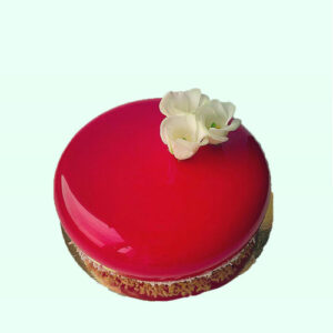 Mirror Glaze Chocolate cake