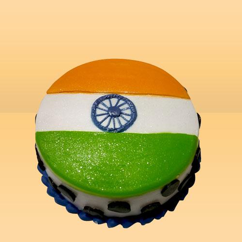 Republic Day Cake